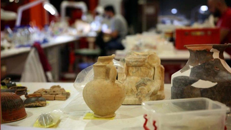 Βρήκαν θησαυρό σκάβοντας για την επέκταση του μετρό στον Πειραιά [εικόνες & βίντεο]