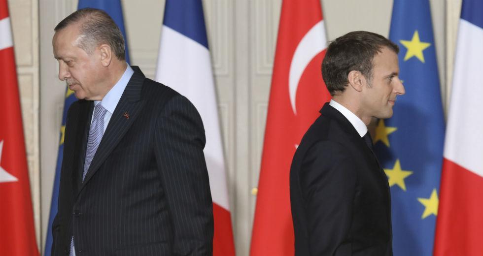 Φουντώνει η κόντρα Γαλλίας – Τουρκίας | Η Εφημερίδα των Συντακτών