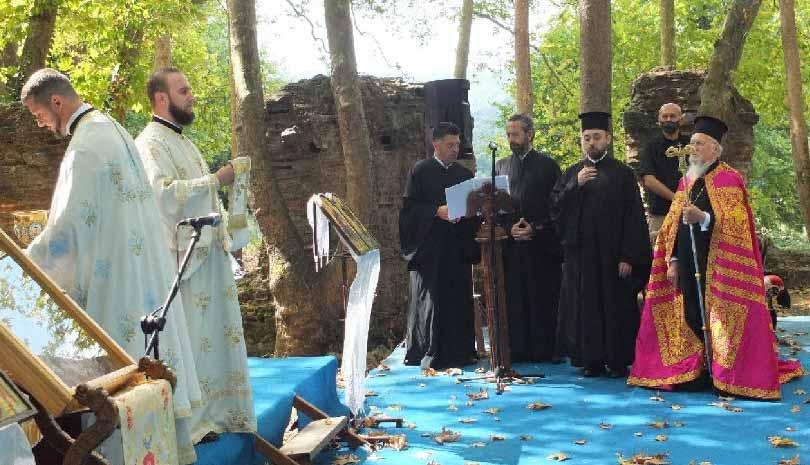 Ο Οικουμενικός Πατριάρχης Βαρθολομαίος για Μονή της Χώρας & Αγία ...