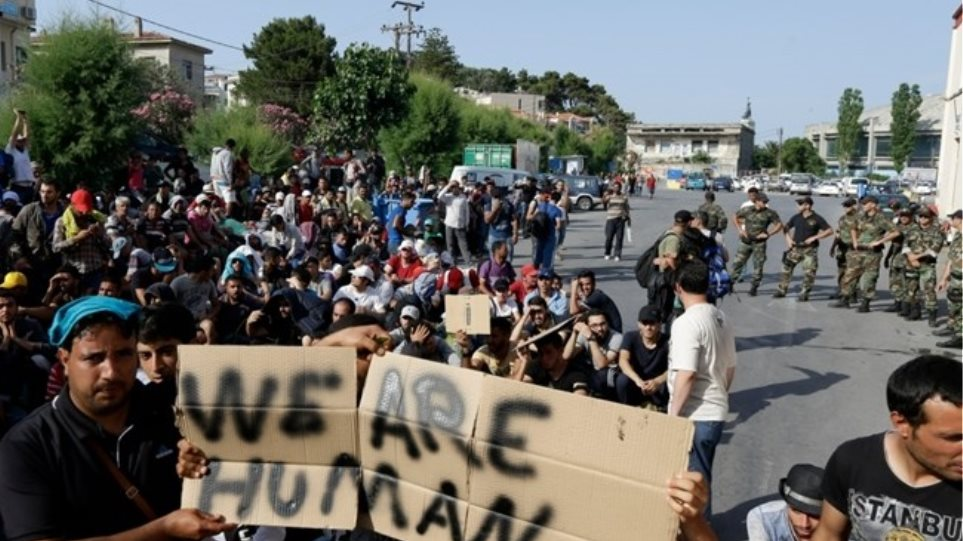 Λέσβος: Διαδήλωση Ιρακινών και Σύρων - Μίνι εξέγερση των Αφγανών στον Καρά Τεπέ