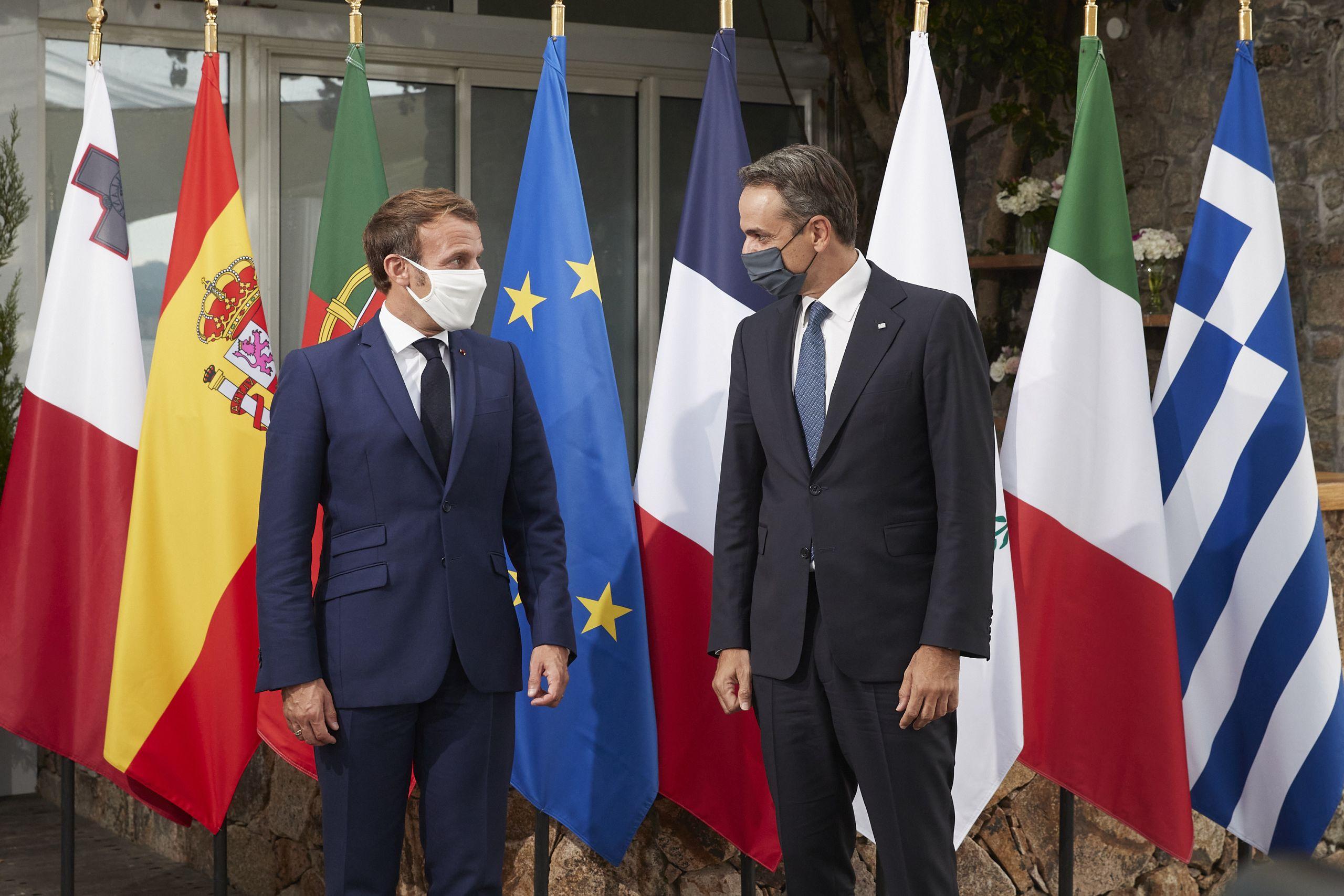 Ευρωμεσογειακή Διάσκεψη: Συμμαχία Ελλάδας - Γαλλίας με ισχυρό μήνυμα προς την Τουρκία | Ειδησεις | Pagenews.gr