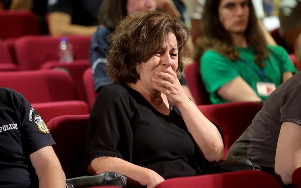 Δίκη Χρυσής Αυγής: Κατέρρευσε η Μάγδα Φύσσα στη θέα του Ρουπακιά   Ελλάδα   Η ΚΑΘΗΜΕΡΙΝΗ