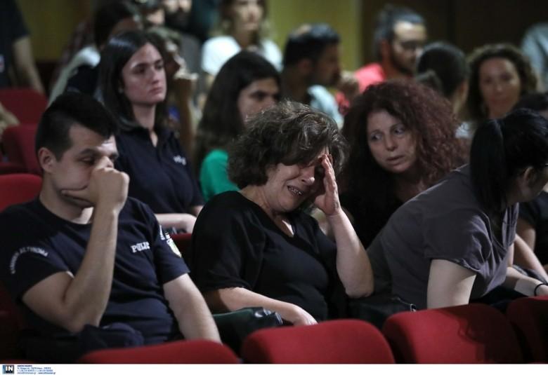 Δίκη Χρυσής Αυγής: Κατέρρευσε η μητέρα του Παύλου Φύσσα