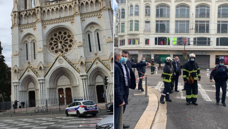 Συναγερμός στη Γαλλία: Επίθεση με μαχαίρι στη Νίκαια - Δύο νεκροί, πολλοί τραυματίες - Συνελήφθη ο δράστης