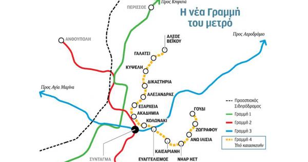Την Παρασκευή τελικά η κατάθεση των τεχνικών και οικονομικών προσφορών για τη νέα Γραμμή 4 του Μετρό της Αθήνας