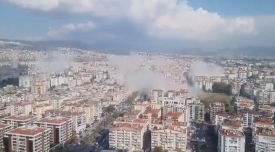 Βίντεο του ισχυρού σεισμού από την Τουρκία: Κουνήθηκε η Σμύρνη | Cyprus Times