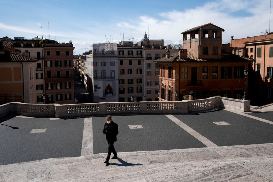 ιταλία κορωνοϊός κρούσματα