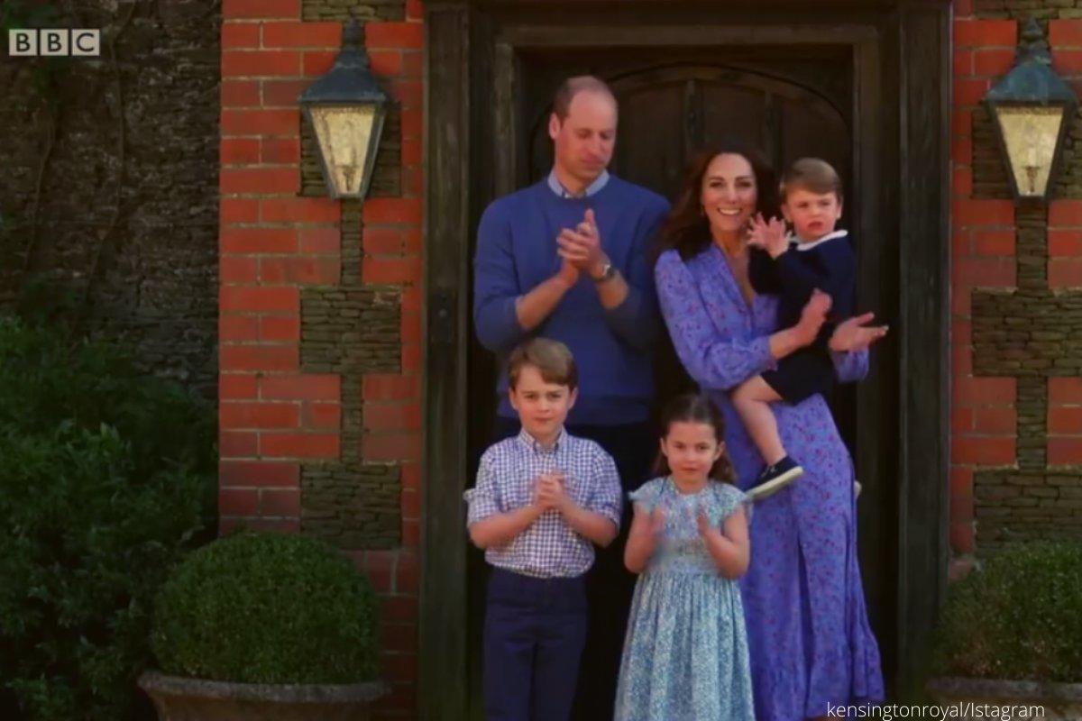 Κορονοϊός: ο Ουίλιαμ, η Κέιτ και τα παιδιά τους χειροκροτούν τους γιατρούς | Asist.gr
