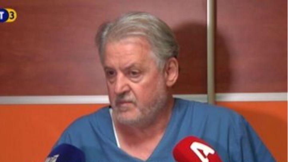 Κορωνοϊός - Συγκλονίζει ο διευθυντής ΜΕΘ του Παπανικολάου: «Μόλις χάσαμε έναν ασθενή! Καταλαβαίνετε πού βρισκόμαστε;»