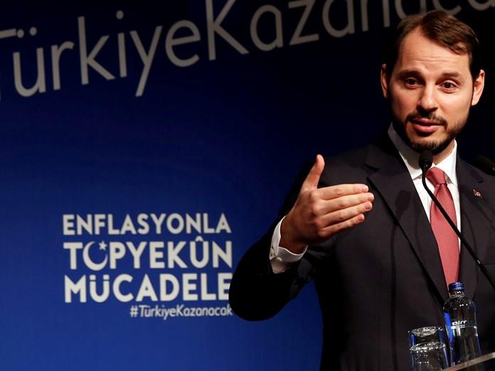Τουρκία: Δεκτή έκανε την παραίτηση του υπουργού Οικονομικών Μπεράτ... | Διεθνή Ειδήσεις