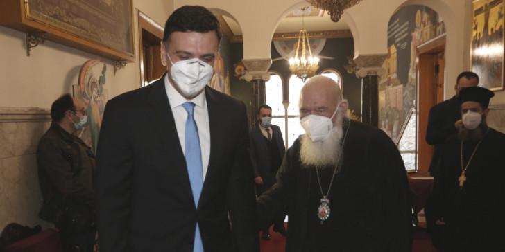 Αρχιεπίσκοπος Ιερώνυμος σε Κικίλια: Θα εμβολιαζόμουν πρώτος, αν δεν είχα νοσήσει | ΕΛΛΑΔΑ | iefimerida.gr