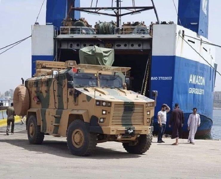 Η Τουρκία παραβιάζει την απαγόρευση αποστολη όπλων στη Λιβύη | Sofokleousin