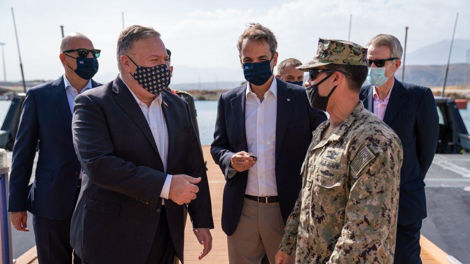 Πομπέο: Το έργο των ΗΠΑ και της Ελλάδας στην Ανατολική Μεσόγειο διασφαλίζουν την ελευθερία