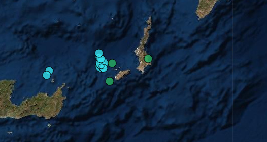 Σεισμός 4,5 Ρίχτερ ανάμεσα στην Κάσο και στην Κρήτη   LiFO