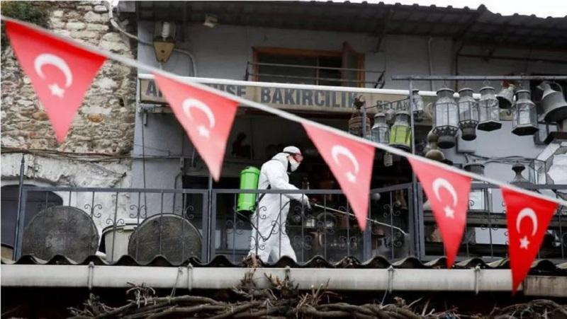 τουρκία κορωνοίός εμβολιασμοί
