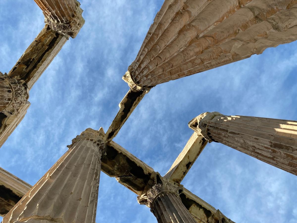 Αποτέλεσμα εικόνας για Ολυμπιείο, ΥΠΠΟΑ, έργα συντήρησης, Λίνα Μενδώνη, Αυτοψία