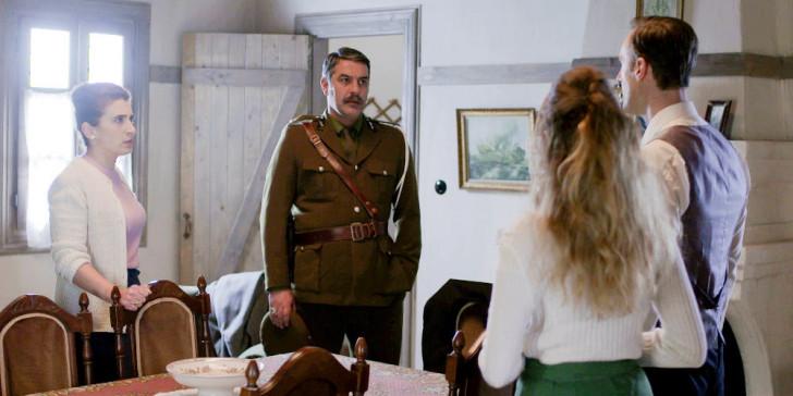 Ο Βόσκαρης στο σπίτι του Τόλλια ζητά την Σοφούλα σε γάμο