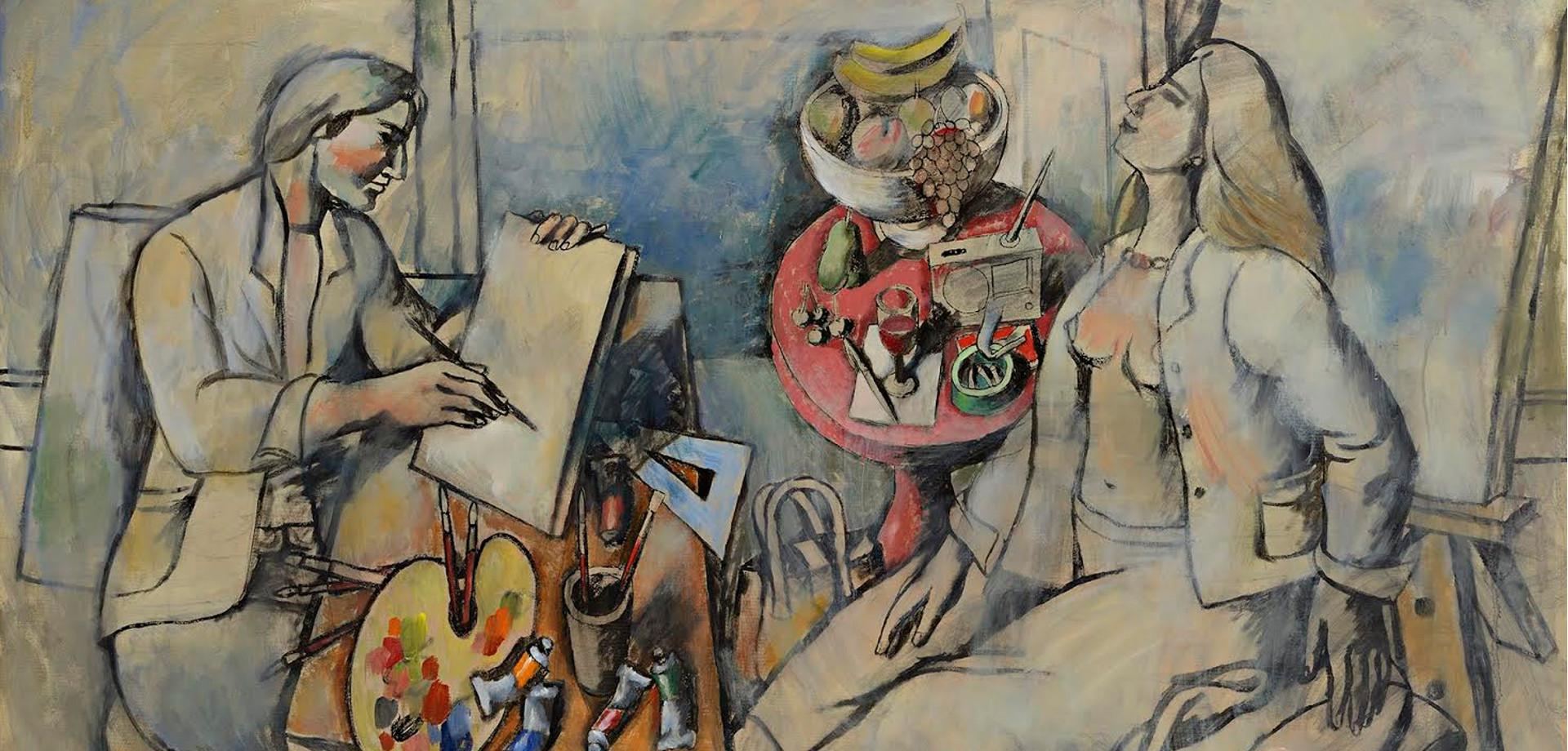 Αποτέλεσμα εικόνας για Παύλος Σάμιος, Ζωγράφος, Αγιογράφος, Καθηγητής ΑΣΚΤ, Εκθέσεις, θάνατος