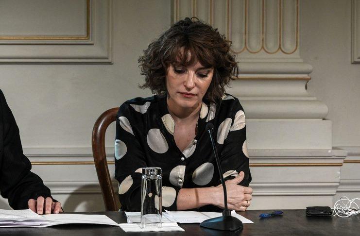 Αποτέλεσμα εικόνας για Έρι Κύργια, παραίτηση Λιγνάδη, Λίνα Μενδώνη, Καλλιτεχνική Διευθύντρια, Εθνικό Θέατρο,