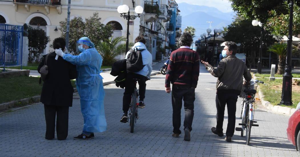 Αποτέλεσμα εικόνας για Ρέθυμνο,Αχαΐα, Εύβοια, Θεσσαλονίκη, lockdown