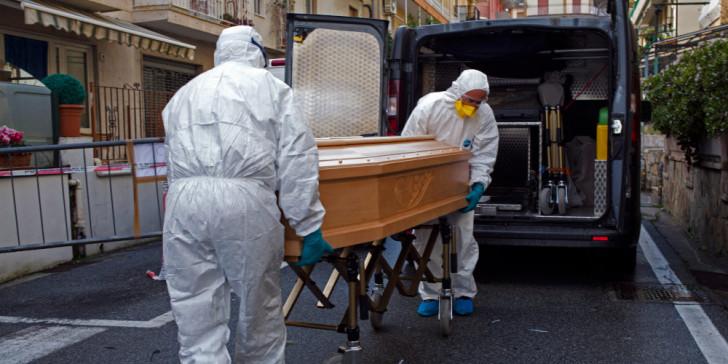 ιταλία κορωνοϊός θάνατοι