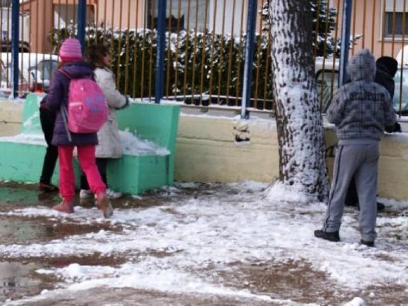 κλειστά σχολεία κακοκαιρία