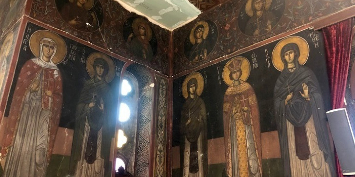 Η εκκλησία στο Πεδίον του Αρεως με τις αγιογραφίες του Φώτη Κόντογλου -Εργα συντήρησης από το ΥΠΠΟ | ΠΟΛΙΤΙΣΜΟΣ | iefimerida.gr