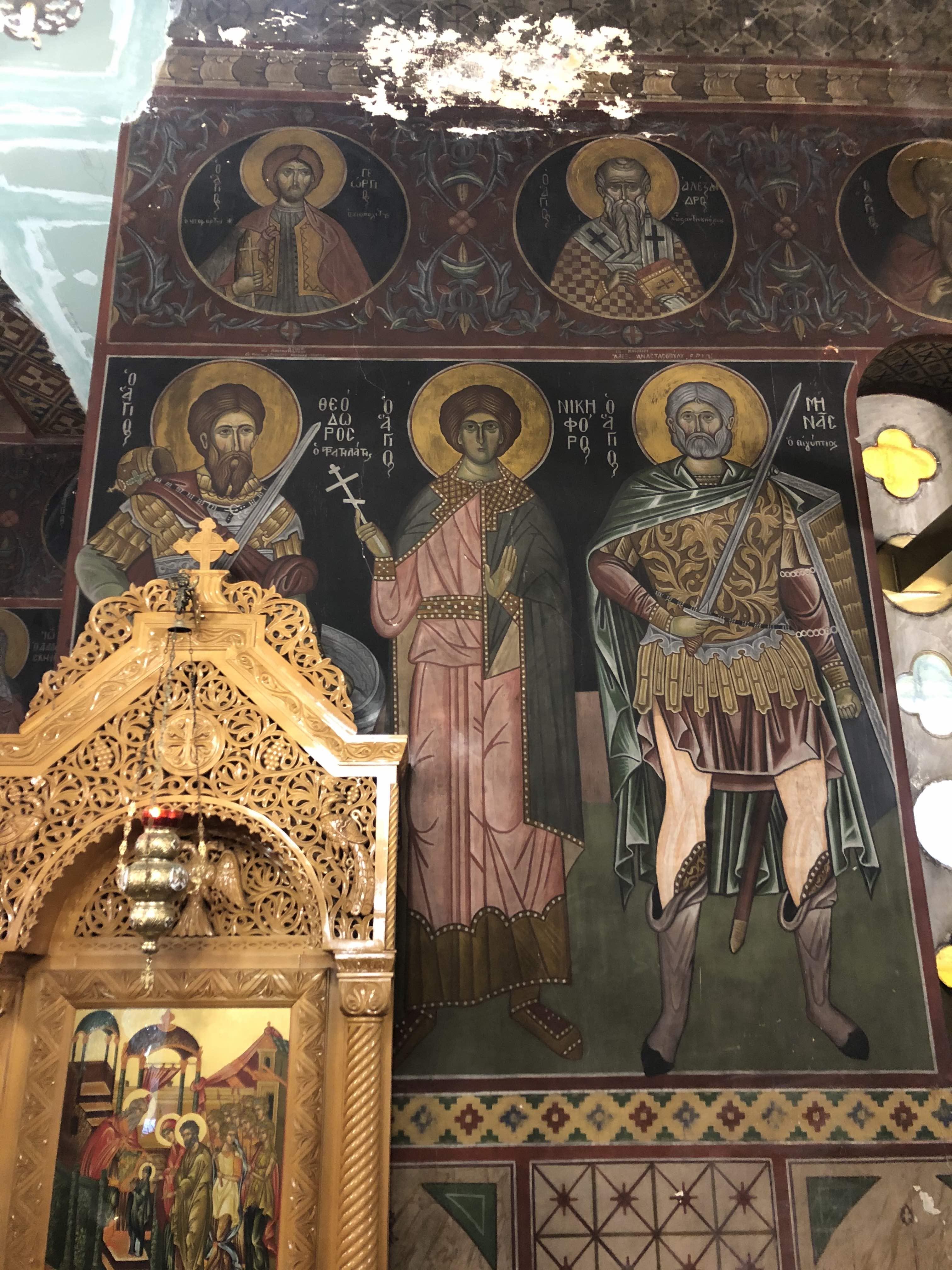 Αποκαθίσταται ο ναός του Αγ. Χαραλάμπους Πεδίου του Αρεως που έχει αγιογραφηθεί από τον Φώτη Κόντογλου | Enetpress