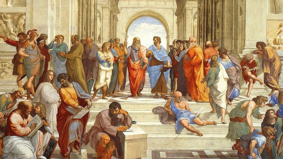 Η «Σχολή των Αθηνών» του Ραφαήλ θα κοσμεί τη Βουλή για έναν χρόνο - Greeks Channel