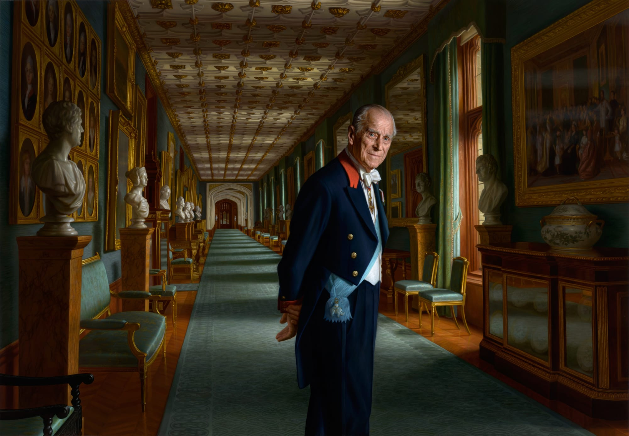Portrait of HRH The Duke of Edinburgh | RALPH HEIMANS