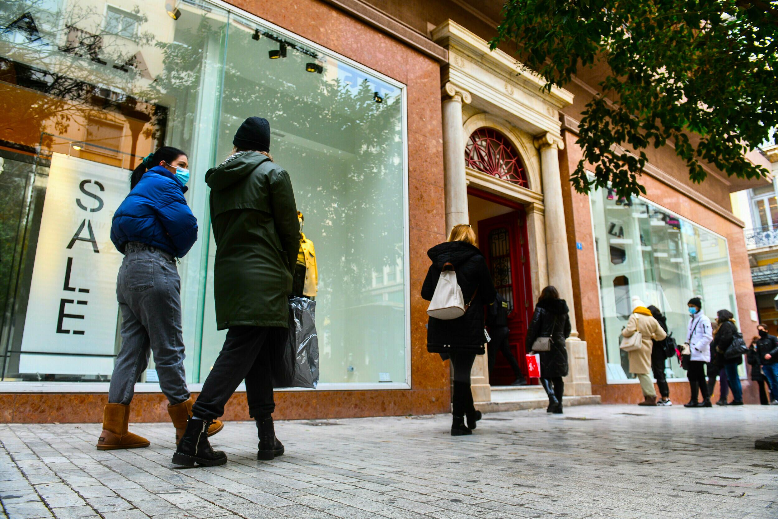 Λιανεμπόριο: Πώς θα λειτουργούν τα καταστήματα από Δευτέρα - Ψώνια με «τρίωρο» SMS | LiFO