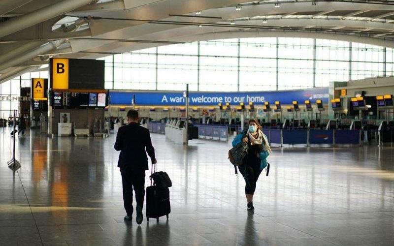 αεροδρομιο ηπα αρνητικο τεστ κορωνοϊού