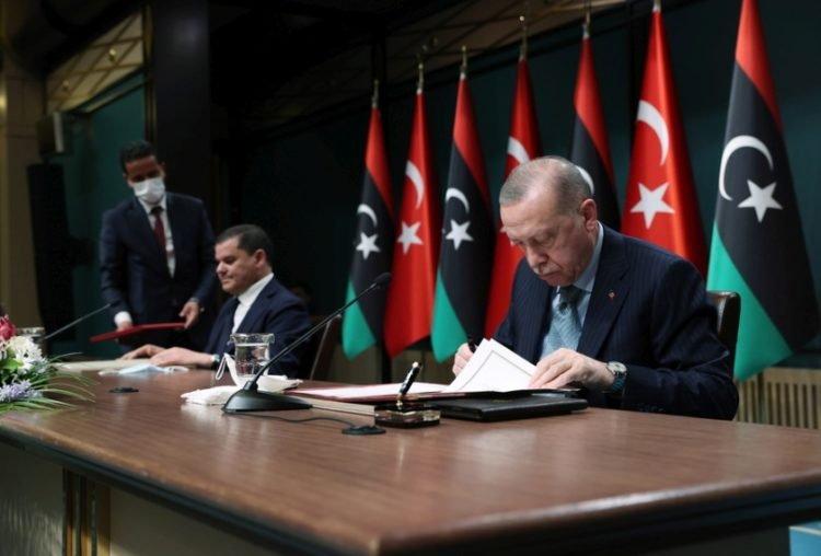 Τουρκία-Λιβύη υπέγραψαν σήμερα πέντε συμφωνίες – Ισχύει το τουρκολιβυκό μνημόνιο, λέει ο Ερντογάν — pontosnews.gr
