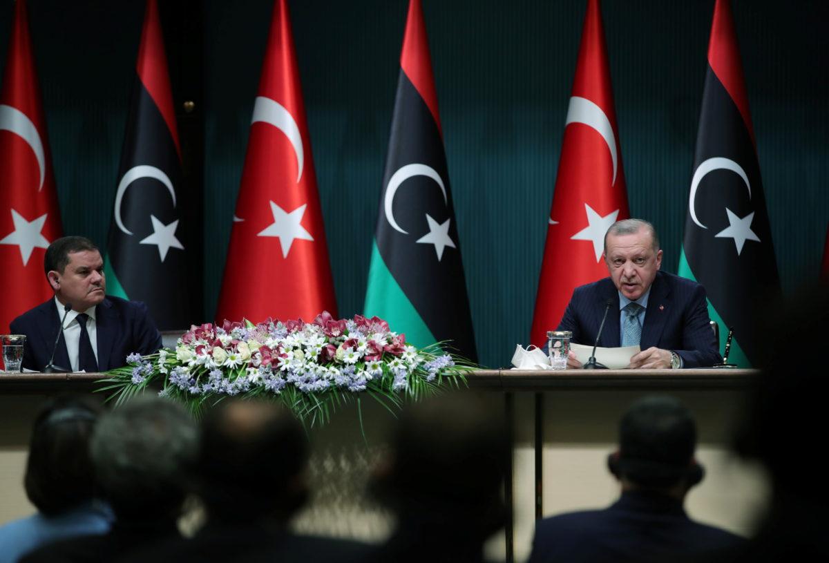 Ερντογάν: Τουρκία και Λιβύη είναι δεσμευμένες στο μνημόνιο οριοθέτησης θαλασσίων ζωνών